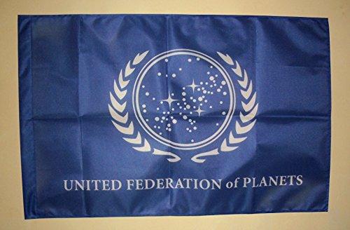 Frikigames Bandera Star Trek Federación Unida de Planetas