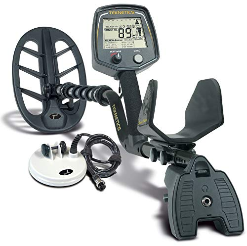 Teknetics T2LTD-BLK T2 Special Edition Metal Detector with 5-Inch and 11-Inch DD...