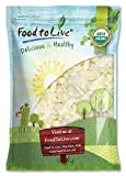 Organic Coconut Chips, 6 Pounds - Non-GMO, Kosher, Raw, Desiccated,...