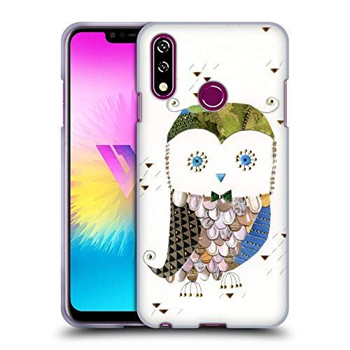 Head Case Designs Ufficiale Turnowsky Gufo Gentiluomo Mille Feuille Cover in Morbido Gel Compatibile con LG W10