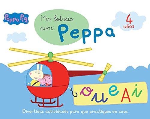 Mis letras con Peppa Pig: Divertidas actividades para que practiques en casa