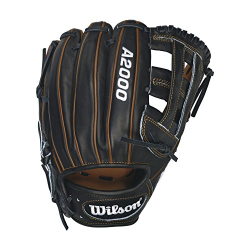 Wilson A2000 PP05 Infield Baseball Glove, Black/Saddle Tan, Right Hand Throw