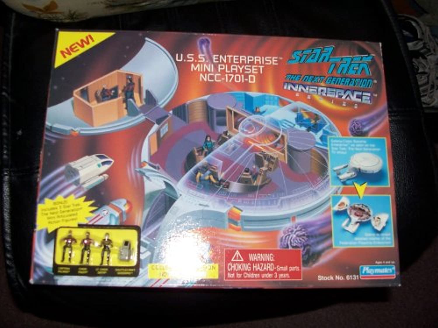Star Trek the Next Generation Innerspace Playset  U.S.S. Enterprise NCC1701D