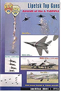 Linden Hill 1/48 Scale Decal Lipetsk Top Guns Russian AF TsBP i PLS Su-27 MiG-29