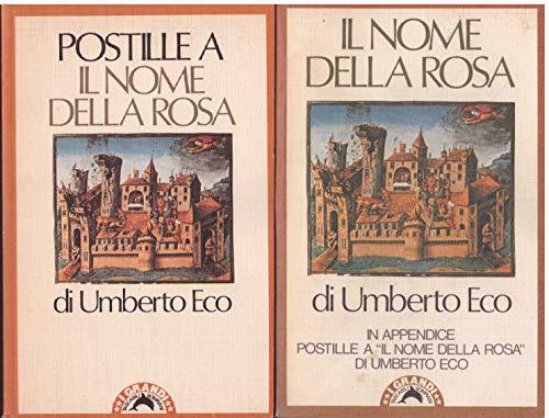 IL NOME DELLA ROSA (con Postille) 1987