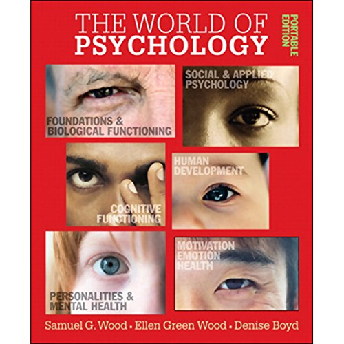 VangoNotes for The World of Psychology  By  cover art