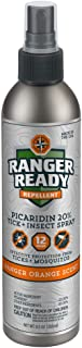 Ranger Ready Picaridin 20% Tick + Insect Repellent Fine Mist Spray | Ranger Orange Scent | 235ml (8.0oz)