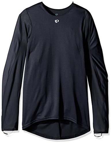PEARL IZUMI Transfer LS Camiseta Térmica, Hombre, Negro, S