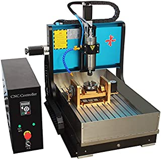 JFT 6040 (60×40cm) cnc router 5 axis machine with USB port,MACH3 system for Jade\Metal\Jewelry\Three-dimensional woodworking (2200w with water sink)