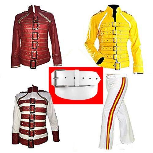 Freddie Mercury Concert Wembly - Cazadora, pantalones y cinturones