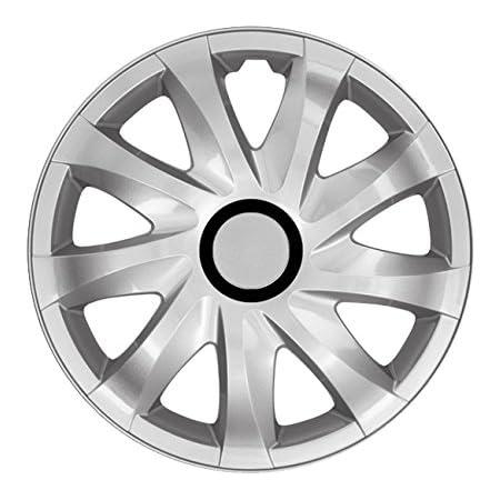 Eight Tec Handelsagentur Farbe Größe Wählbar 14 Zoll Radkappen Radzierblenden Kan Silber Passend Für Fast Alle Fahrzeugtypen Universal Auto