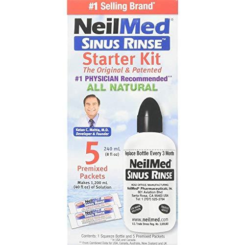 NeilMed NeilMed NeilMed Sinus Rinse Starter Kit (Pack of 3)