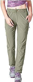 Women's Quick Dry Hiking Pants Sun Protection Mountain Trousers Lightweight Climbing Pants