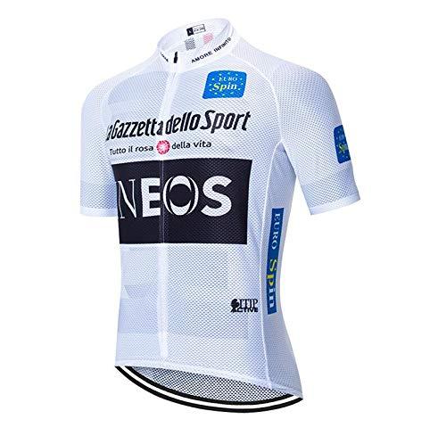 Mannen fietsshirt met korte mouwen racefiets top mountainbike shirt