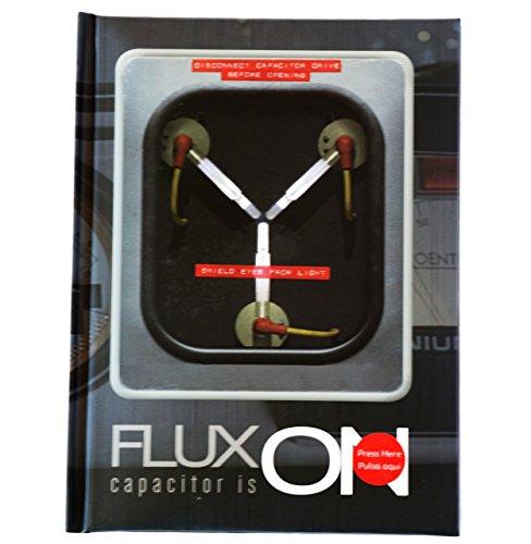 Regreso Al Futuro Zurück in die Zukunft–Flux, Notizbuch mit Licht (SD Toys sdtuni89097)