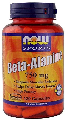 Sport, Beta-Alanin, 750 mg, 120 Kapseln - Now Foods