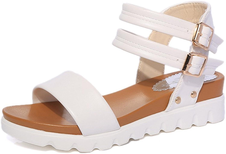 24XOmx55S99 Women's Casual Platform Sandals Anti-Slip Outdoor shoes