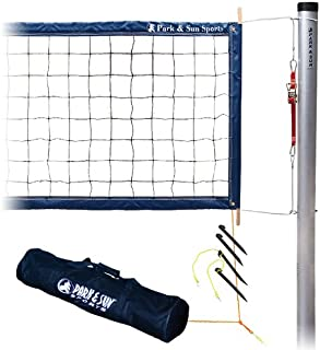 Park & Sun Sports Tournament 4000: Permanent Professional Outdoor Volleyball Net System