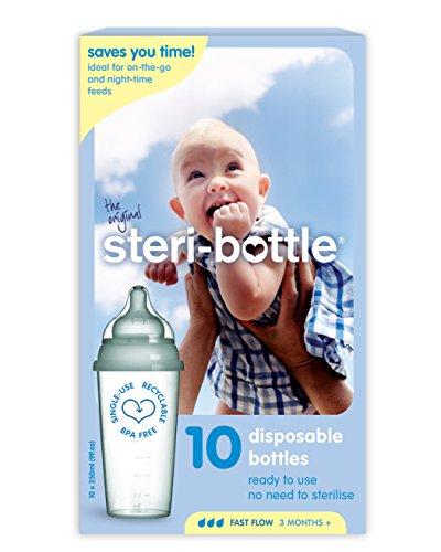 Steri-Bottle Fläschchen, 10Stück