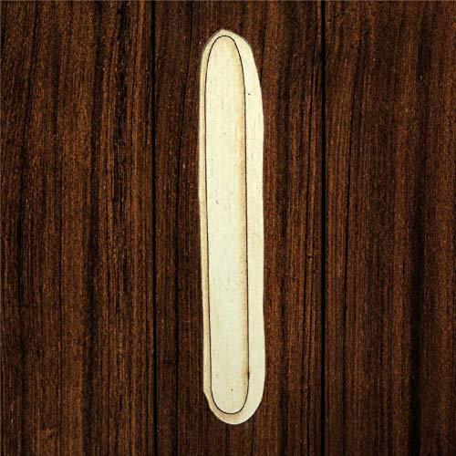 BYRON HOYLE Lima de uñas de madera, arte de madera sin terminar, placa de pared inspiradora, decoración rústica del hogar para sala de estar, guardería, dormitorio, porche, pared de galería