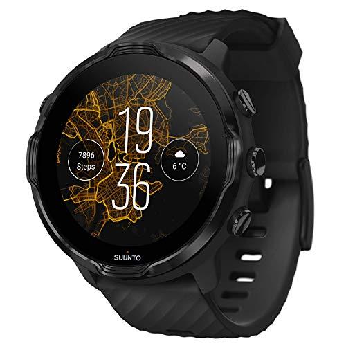 SUUNTO(スント) SUUNTO7 ランニング用GPS ・ アクセサリー/BLACK (スント7 ブラック) 【 日本正規品 メーカー保証 】 SS050378000 ブラック