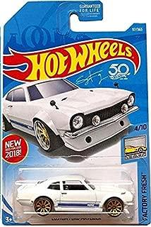 Hot Wheels 2018 50th Anniversary Factory Fresh Custom Ford Maverick 97/365, White