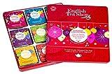 English Tea Shop - Weihnachten Tee-Kollektion in edler Metalldose 'Red Christmas Balls', BIO, 72 x...