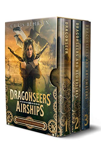 Dragonseers and Airships: Secicao Blight Omnibus: A Steampunk Fantasy Series with Dragons (Books 1 to 3) steampunk buy now online