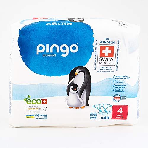 Pingo - Pañales T4 7-18Kg - 5573-Pack40unidades-Pingo