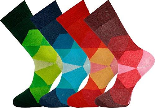 Mysocks unisex tobillo calcetines de diamante
