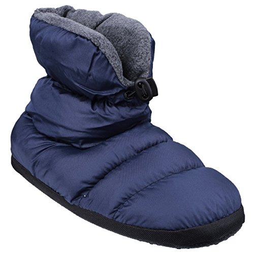 Cotswold Childrens/Kids Camping Adjustable Slipper Boots (Medium) (Navy)