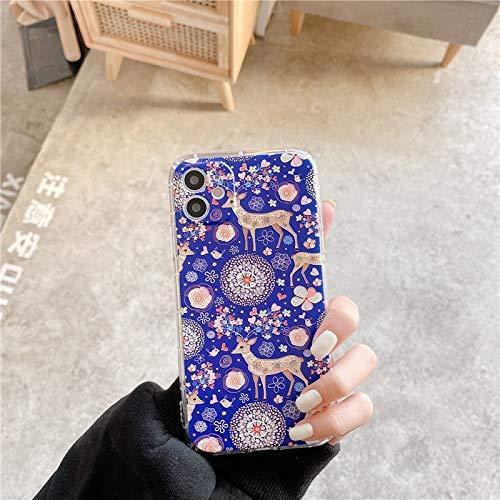Wyalm Funda del teléfono de la Historieta de la Pintura Abstracta para el iPhone 12 Mini 11 Pro MAX 8 7 Plus x XR XS MAX 3D Relieve Soft Funda Suave Casos Lindos