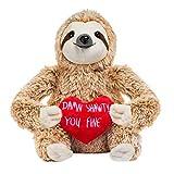 Momola Paresse Jouet en Peluche - Ours en Peluche Paresseux Mignons Cadeaux Saint Valentin pour Petite Amie - Cadeau d'anniversaire Cadeau Saint Valentin