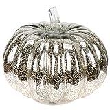 PIXNOR Glas Kürbisse Licht Kreative Batteriebetriebene LED Kürbis Lampe Dekor für Halloween...