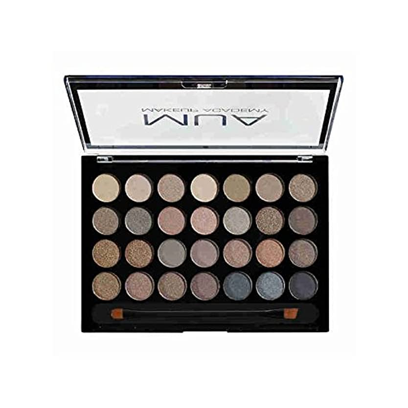 縮れたランデブー主服を脱ぐ究極 - のアイシャドウパレット x2 - MUA Eyeshadow Palette - Ultimate Undressed (Pack of 2) [並行輸入品]