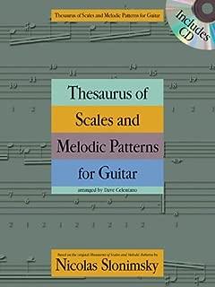 Nicolas Slonimsky: Thesaurus of Scales and Melodic Patterns (Guitar) by Nicolas Slonimsky (Original Author) (27-Mar-2013) Paperback