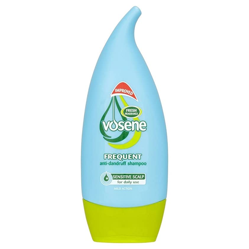 見積り気楽な空白Vosene Sensitive Scalp Anti Dandruff Frequent Use Shampoo (250ml) Vosene敏感な頭皮抗フケ頻繁に使用するシャンプー( 250ミリリットル) [並行輸入品]