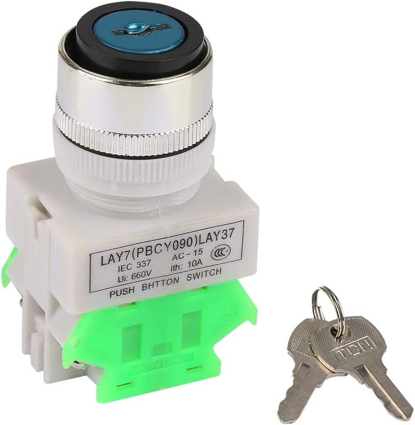 3-Position Key Our shop most popular Rotatory Button Switch Limited time cheap sale Position R 3 Operated