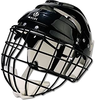 Mylec Jr. Helmet with Wire Face Guard (Renewed)