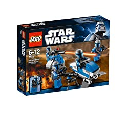 A new force has entered the Clone Wars on the side of the Separatists – the Mandalorians! Build up your Mandalorian army and take the battle to the Clone Army with the Mandalorian speeder, blaster turret and four Mandalorian trooper minifigures, each...