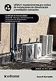 Mantenimiento preventivo de instalaciones de climatización y ventilación-extracción. IMAR0208