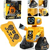 Xiauyu RC Robot juguete para niños, robot programable inteligente con controlador de infrarrojos juguetes, bailar, cantar, ojos LED, ciencia popular knowledgeRobot para niños