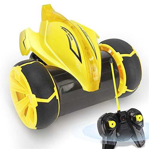 Wguili Jouet interactif Racing Boy Toy Car Boy Anniversaire Rays Cadeau Stunt Cool Voiture Roulant Stunt Enfants Sauter Gyro Voiture Jouet idéal pour Les Enfants