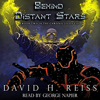 Behind Distant Stars cover art
