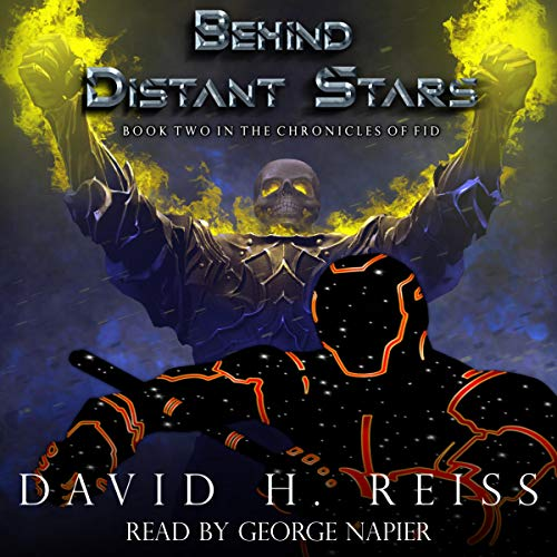Behind Distant Stars audiobook cover art