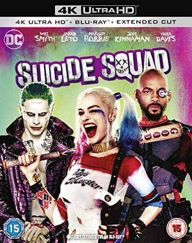 Suicide Squad [4K Ultra HD Blu-ray] [Region Free]