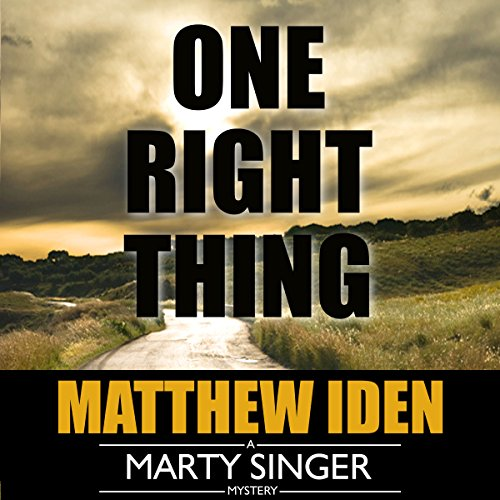 One Right Thing audiobook cover art