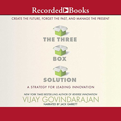 The Three-Box Solution audiobook cover art