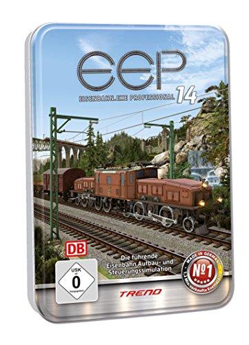 EEP 14 Professional: Eisenbahn-Simulation, Modellbahn-Simulation, PC-Simulation