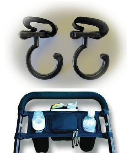 Stroller Caddy Cupholder and Hooks Complete Free Shipping Ranking TOP18 2 Pack